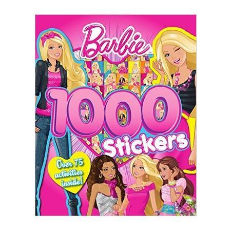 Barbie 1000 Stickers芭比千張貼紙書