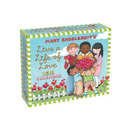 Live a Life of Love 2018 Calendar