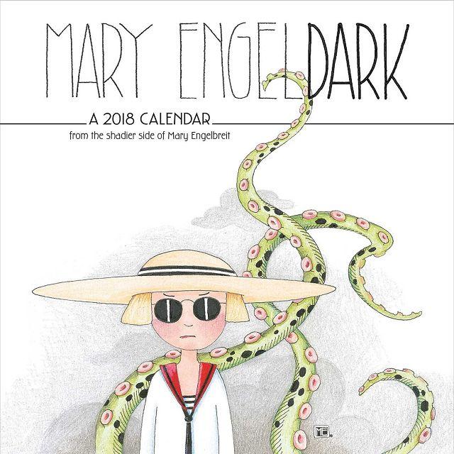 Mary Engeldark 2018 Calendar(Wall)