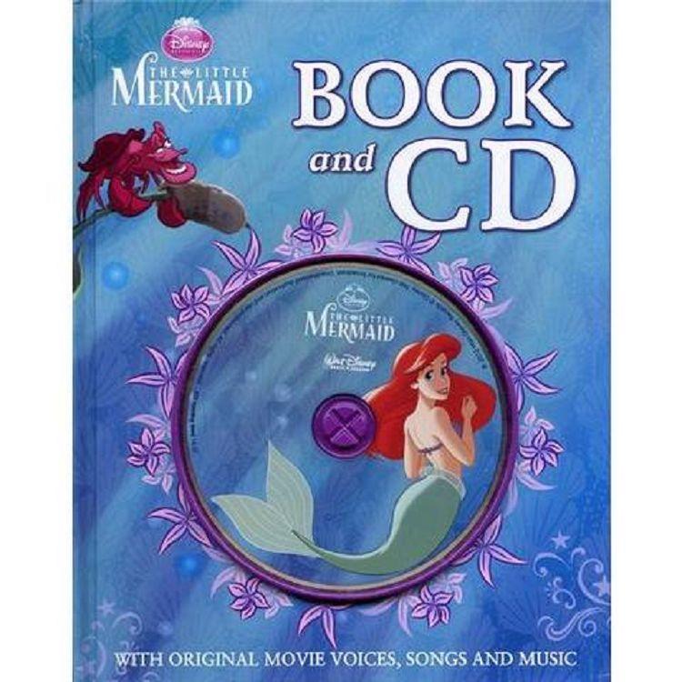 Disney: Little Mermaid Book & CD迪士尼:小美人魚(英文繪本與原音CD)