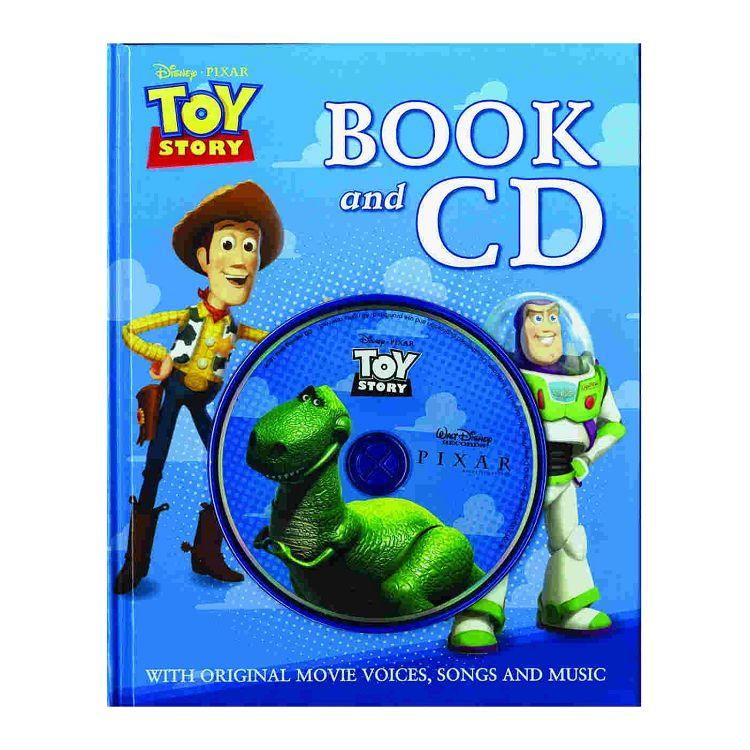 Disney-Pixar: Toy Story Book & CD迪士尼-皮克斯:玩具總動員一(英文繪本與原音CD)