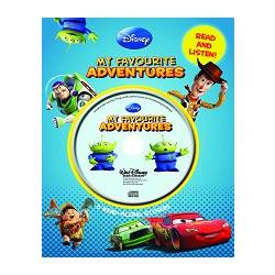 Disney Pixar 5-in-1 Book & CD Slipcase迪士尼-皮克斯:經典有聲故事套書(英文繪本與原音CD)