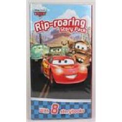 Disney Pixar Fold-out Folder汽車總動員競技場口袋書