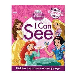 I Can See - Disney Princess動腦找一找-迪士尼公主