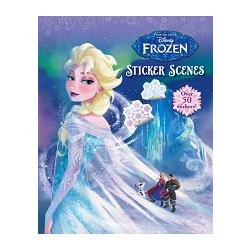 Frozen Sticker Scenes冰雪奇緣晶瑩場景貼紙書