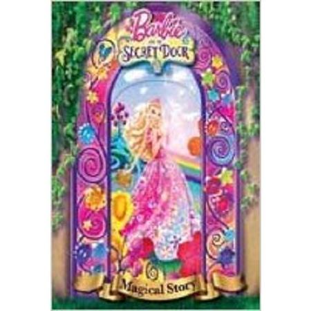 Barbie & The Secret Door: Magical Story芭比系列:神秘之門3D封面繪本