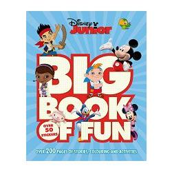 Big Book of Fun - Disney Junior驚喜遊戲故事集-迪士尼卡通