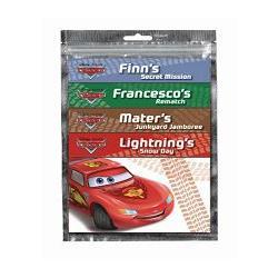Disney Cars Mini Books in Foil Bag迪士尼汽車總動員閱讀歡樂包