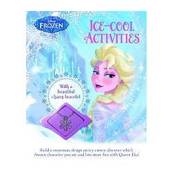 Disney Frozen Ice-Cool Activity Book冰雪奇緣:魔法奇幻之旅遊戲書(附艾沙專屬手環)