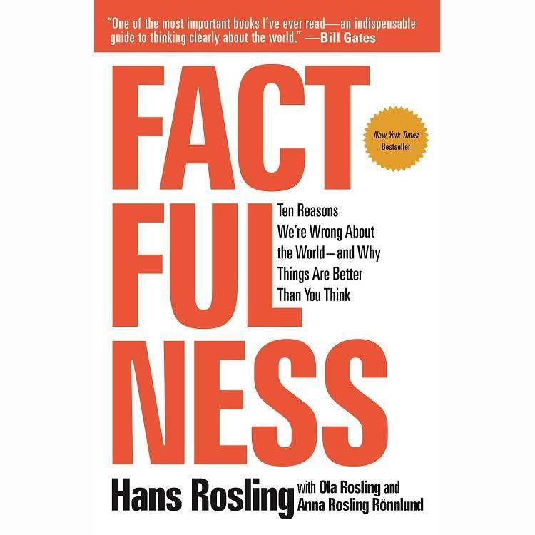 Factfulness: Ten Reasons We`re Wrong About The World - And Why Things Are Better Than You Think真確