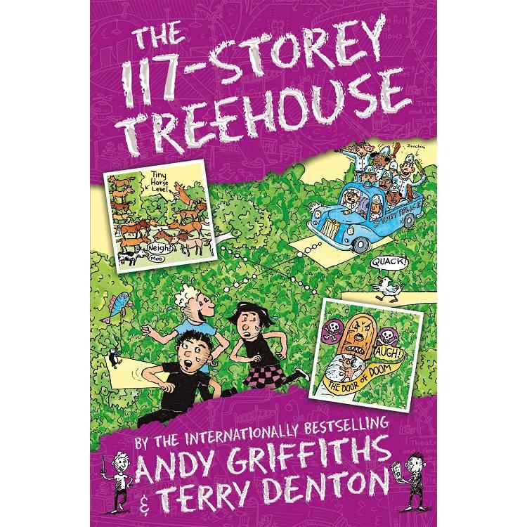 The 117-Storey Treehouse (The Treehouse Books)瘋狂樹屋117層