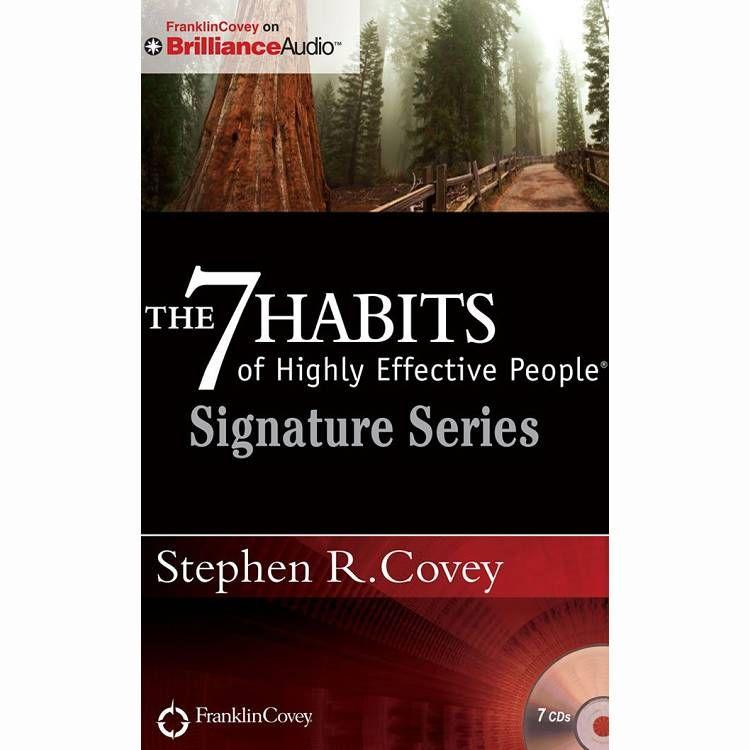The 7 Habits of Highly Effective People(有聲CD)