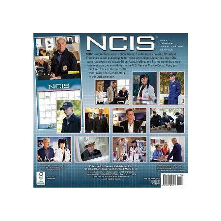 Ncis 2018 Calendar(Wall)