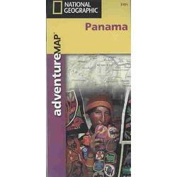 National Geographic Panama Adventure Map