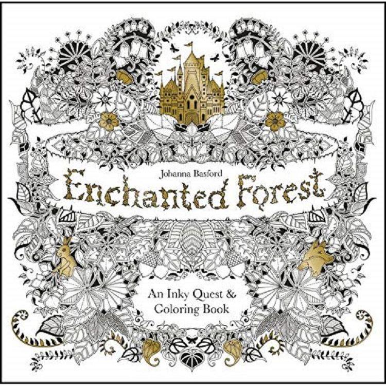 Secret Garden:Enchanted Forest 祕密花園系列:魔法森林