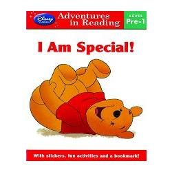 Disney Learing - Level Pre-1 - Winnie The Pooh :  I am Special 英語閱讀:我是獨一無二的
