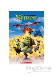 Scholastic Popcorn Readers Level 1: Shrek 1 with CD