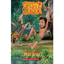Scholastic Popcorn Readers Level 1: The Jungle Book: Man Trap with CD 森林王子