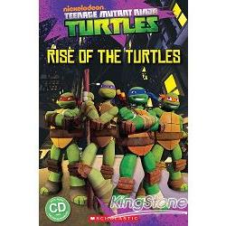 Scholastic Popcorn Readers Level 1: Teenage Mutant Ninja Turtles: Rise of the Turtles with CD忍者龜