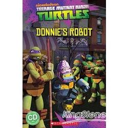 Scholastic Popcorn Readers Level 3: Teenage Mutant Ninja Turtles: Donnie``s Robot with CD忍者龜 3