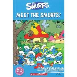 Scholastic Popcorn Readers Starter Level: Meet the Smurfs! with CD