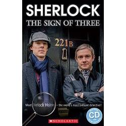 Sherlock:The Sign of Three with CD (Scholastic ELT Readers Level 2) 新世紀福爾摩斯:三的徵兆