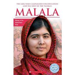 Scholastic ELT Readers Level 1: Malala with CD 馬拉拉