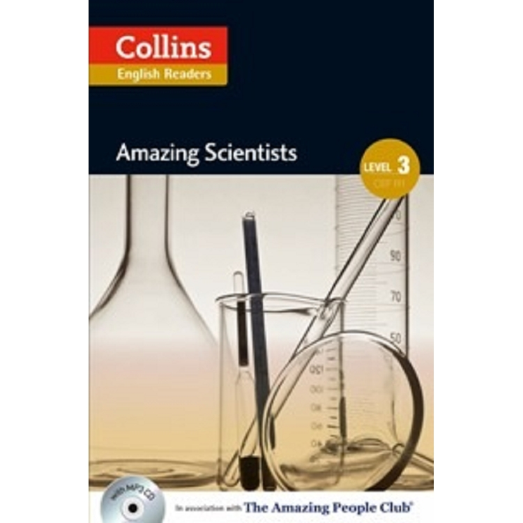 Collins English Readers Level 3:Amazing People- Amazing Scientist with CD