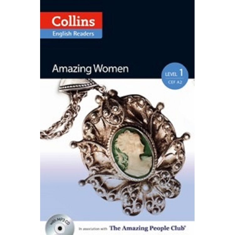 Collins English Readers Level 1:Amazing People-Amazing Women with CD