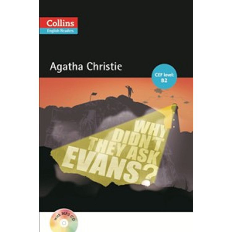 Collins English Readers:Why Didn't They Ask Evans? with CD