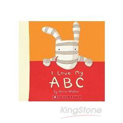 I LOVE OLLIE: I LOVE MY ABC 我愛小斑馬歐利系列