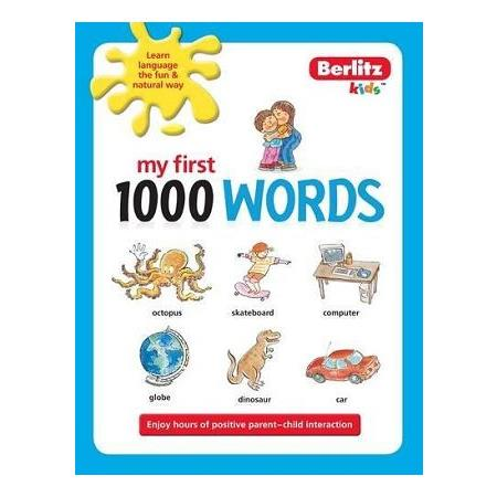 1000 Words English (Berlitz Kids)