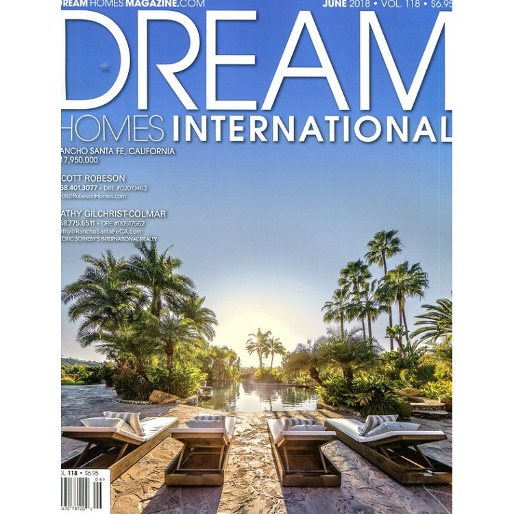 DREAM HOMES INTERATIONAL 6月號 2018
