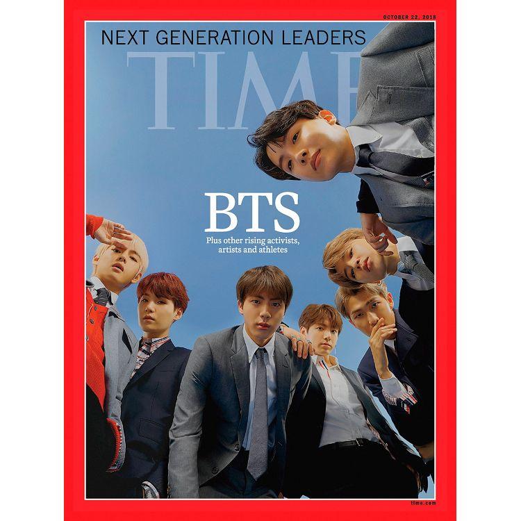 TIME時代週刊201836-防彈少年團BTS