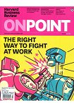 Harvard Business Review:OnPoint 秋季號 2018