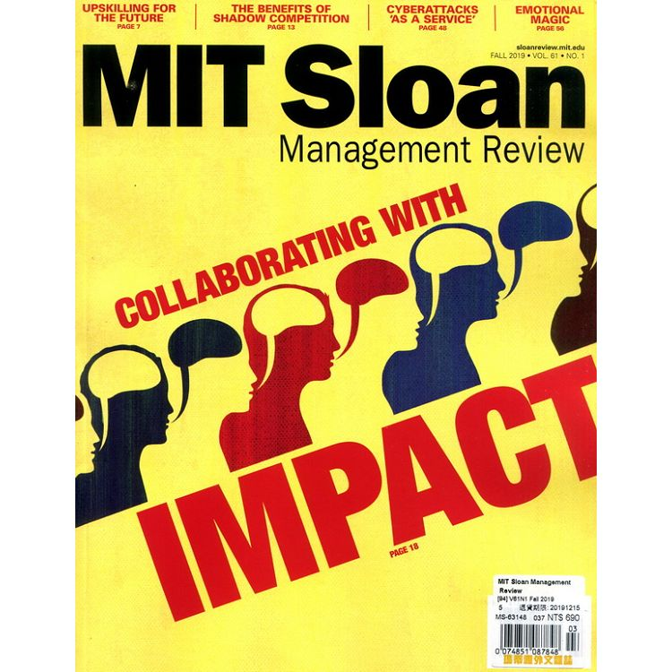 MIT Sloan Management Review 秋季號_2019