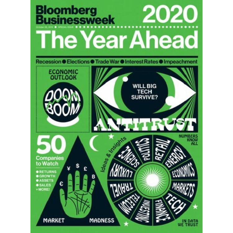 Bloomberg Businessweek 年刊:The Year Ahead 2020