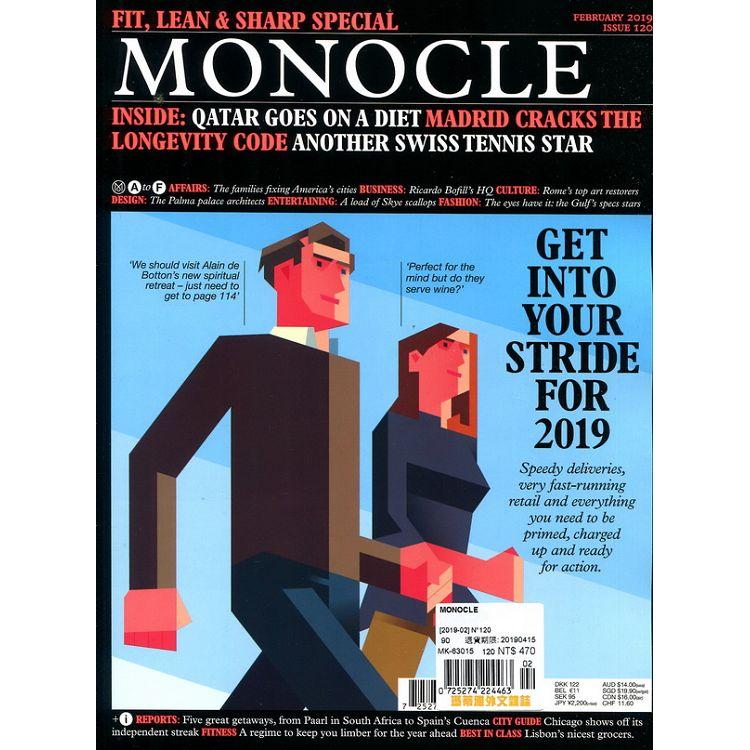 MONOCLE 第120期 2月號_2019