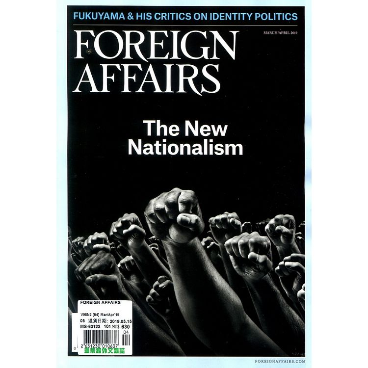 FOREIGN AFFAIRS 3-4月號_2019