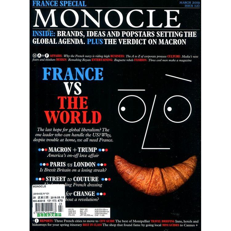 MONOCLE 第121期 3月號_2019