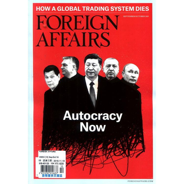 FOREIGN AFFAIRS 9-10月號_2019