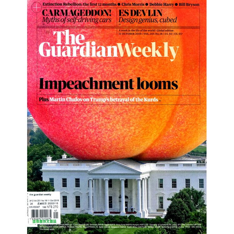 the guardian weekly Vol.201 No.18 10月11日2019