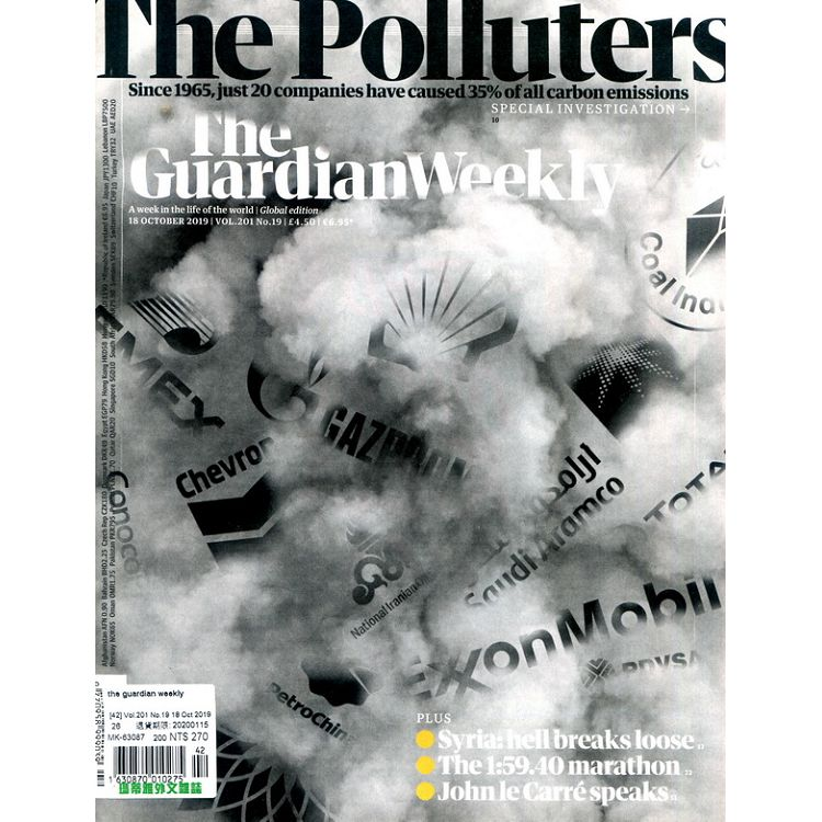 the guardian weekly Vol.201 No.19 10月18日2019