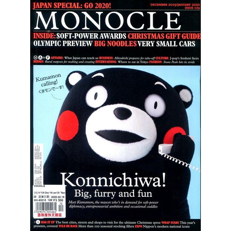 MONOCLE 第129期 12-1月號_2019-2020