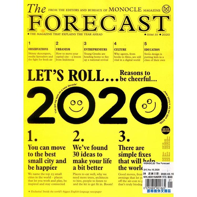 MONOCLE_ The Forecast 第10期_2020