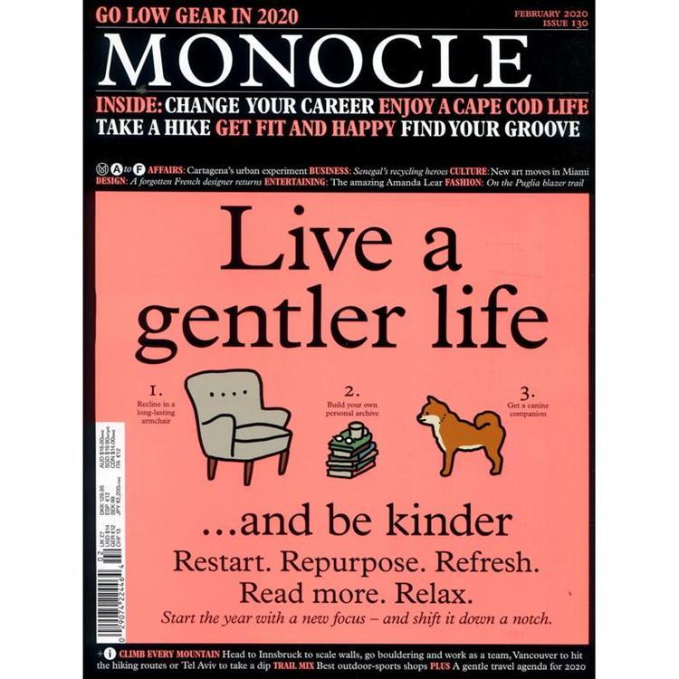 MONOCLE 第130期 2月號_2020