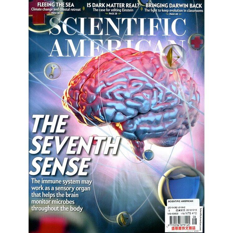 SCIENTIFIC AMERICAN 8月號 2018