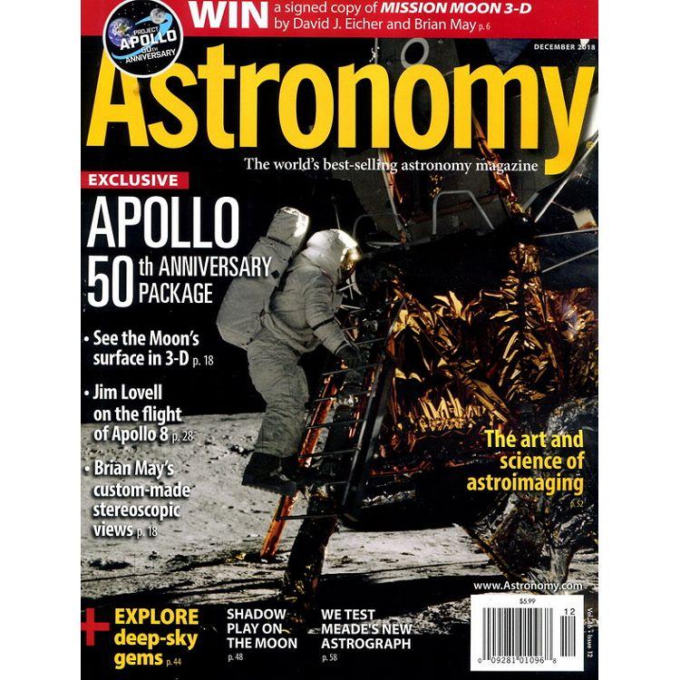 Astronomy 12月號 2018