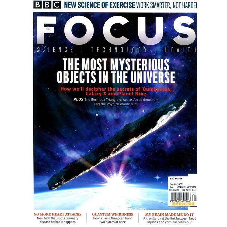 BBC FOCUS 第331期 1月號 2019