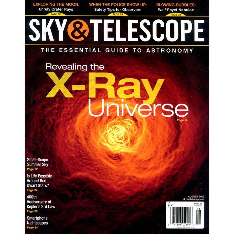 SKY & TELESCOPE 8月號_2019